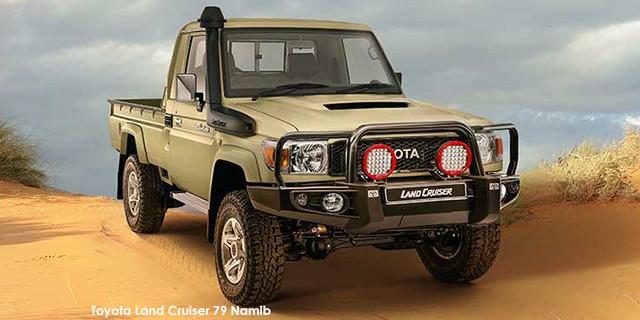 Land Cruiser 79 4.5D-4D LX V8 Namib