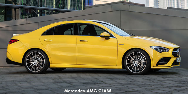 Mercedes-AMG CLA35 4Matic