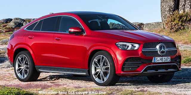 Mercedes-Benz GLE400d coupe 4Matic AMG Line