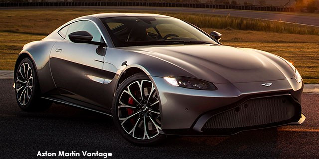 Vantage V8 coupe