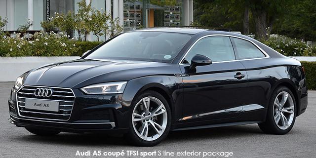 Audi A5 coupe 40TDI quattro sport S line sports