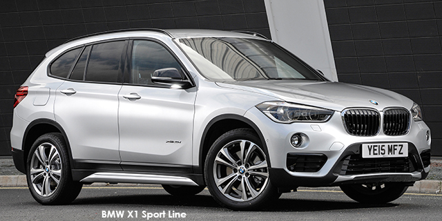 bmw x1 xdrive25i sport line sports auto. Black Bedroom Furniture Sets. Home Design Ideas