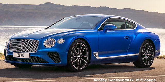 Continental GT W12 coupe