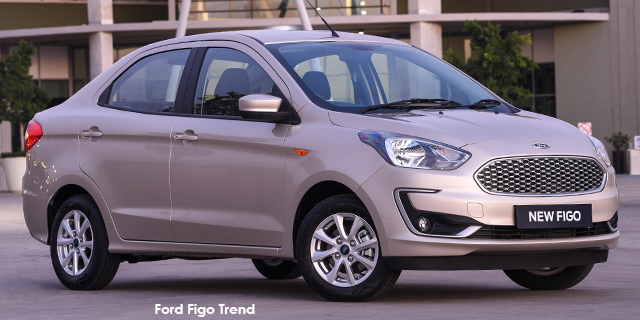 Ford Figo sedan 1.5 Trend