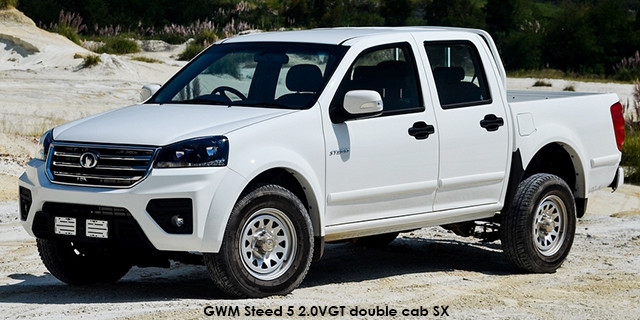 Steed 5 2.0VGT double cab SX