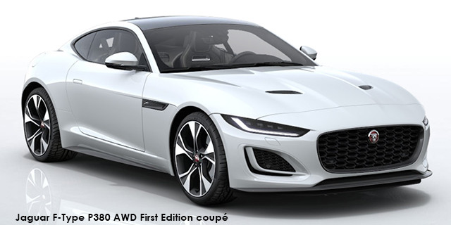 F-Type P380 AWD First Edition coupe