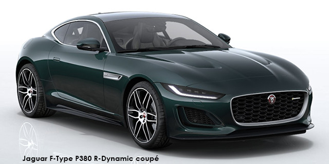 F-Type P380 R-Dynamic coupe