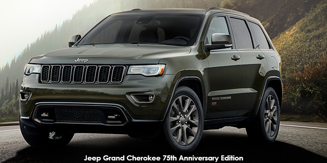 Jeep Grand Cherokee 36l Limited 75th Anniversary Edition Carmag