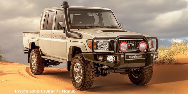 Land Cruiser 79 4.5D-4D LX V8 double cab Namib