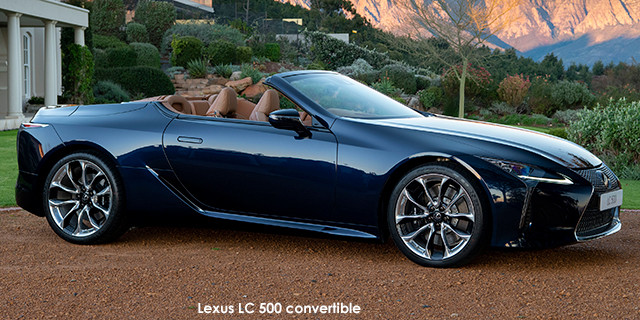 LC 500 convertible
