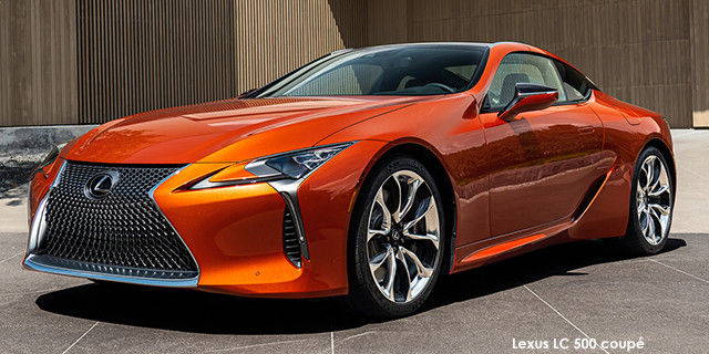 LC 500 coupe