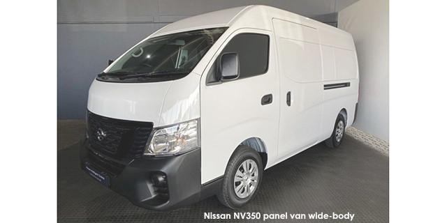 NV350 panel van wide-body 2.5i