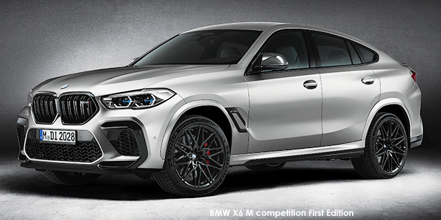 X6 M competition First Edition