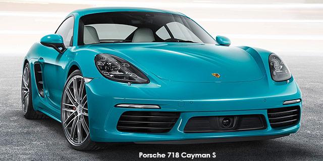 718 Cayman S auto