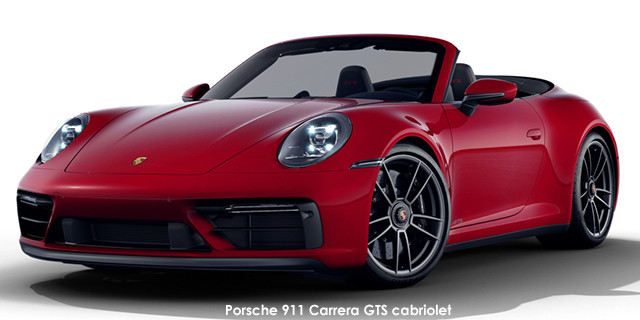 911 Carrera GTS cabriolet auto