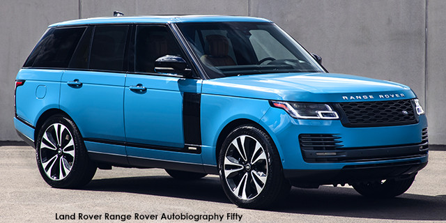 Range Rover Autobiography Fifty SDV8