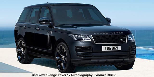 Range Rover SVAutobiography Dynamic Black Supercharged