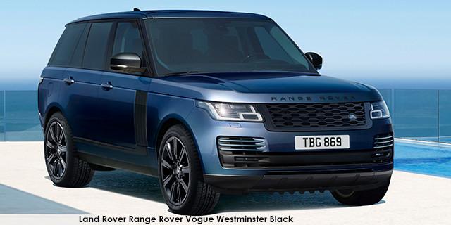 Range Rover Vogue Westminster Black SDV8