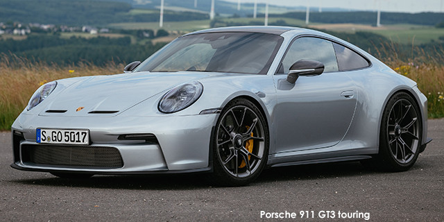 911 GT3 touring auto