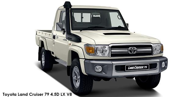 Land Cruiser 79 4.5D-4D LX V8