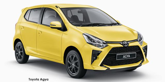 Toyota Agya 1.0 auto
