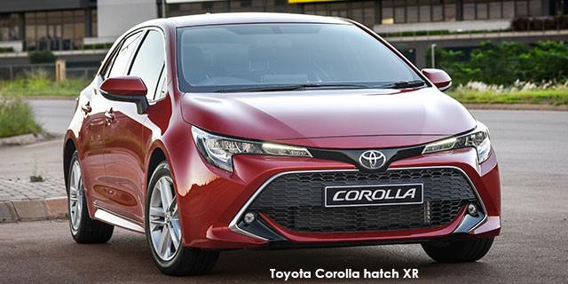 Toyota Corolla hatch 1.2T XS auto