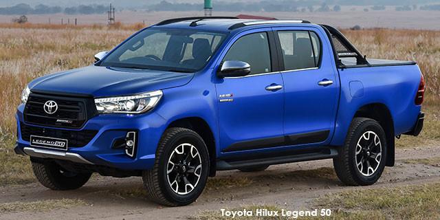 Toyota Hilux 2.8GD-6 double cab 4x4 Legend 50